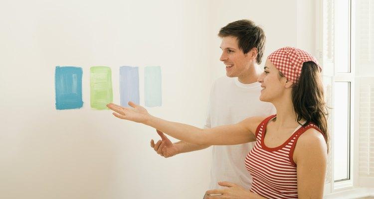 Escolha a laca para finalizar as paredes e obter um efeito espetacular