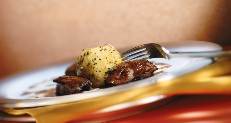 Las carnes de órganos, como el corazón de cerdo, también se conocen como vísceras.