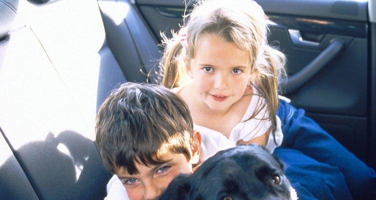 Dejar a los niños solos en el auto es ponerlos en riesgo.