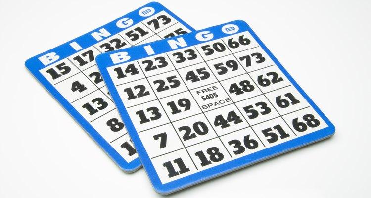 O bingo é um ótimo jogo para ensinar conceitos de matemática