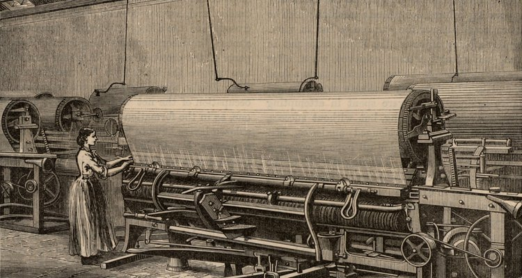 The flying shuttle made it possible to weave much wider fabrics.
