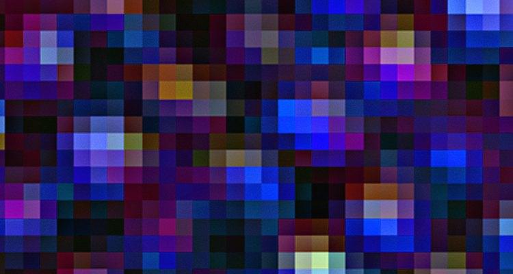 As imagens pixeladas podem ser melhoradas usando um programa de edição de fotos