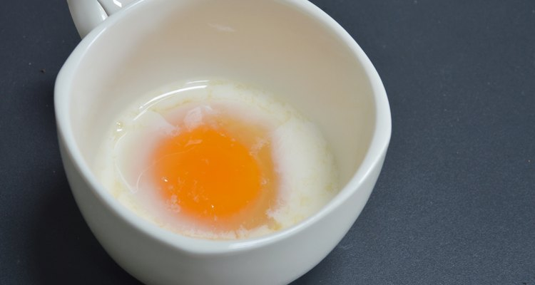 soft-boiled egg in cup