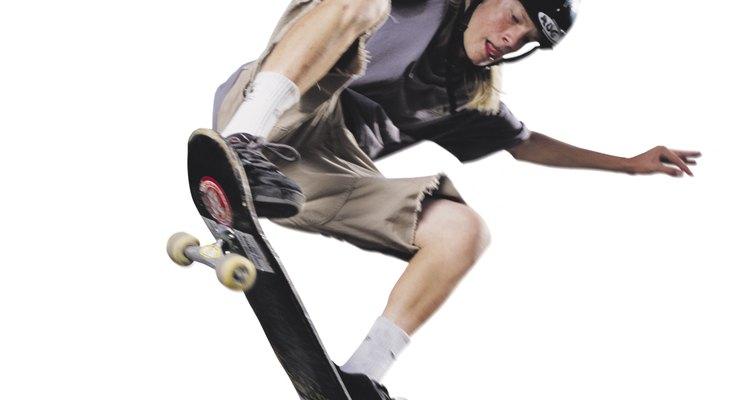 O skate, além de divertido, faz com a criança se exercite