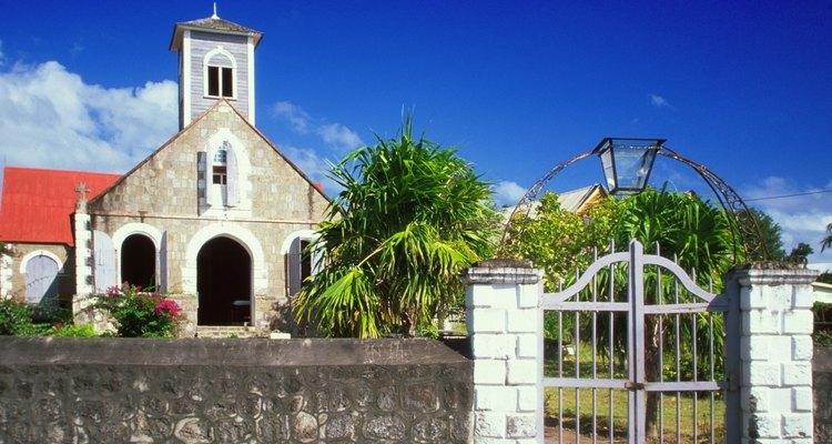 La Iglesia Anglicana se diseminó por el Imperio Británico.