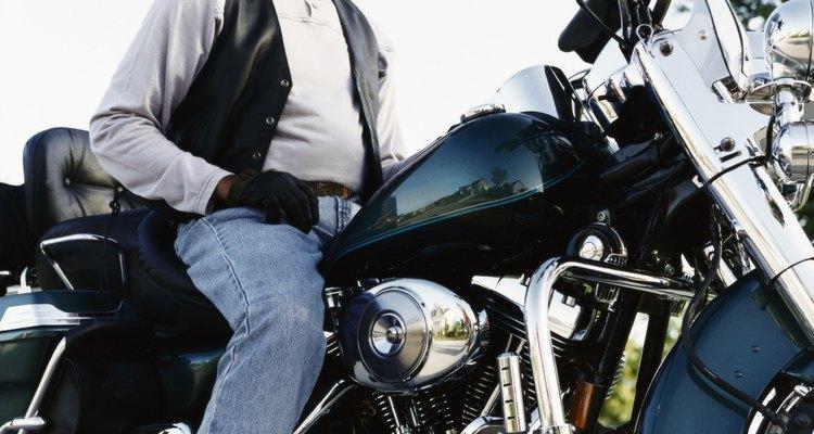 As jaquetas são muito usadas pelos motoqueiros