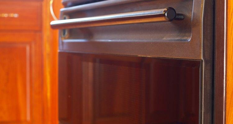 Oven door hinges can squeak over time.