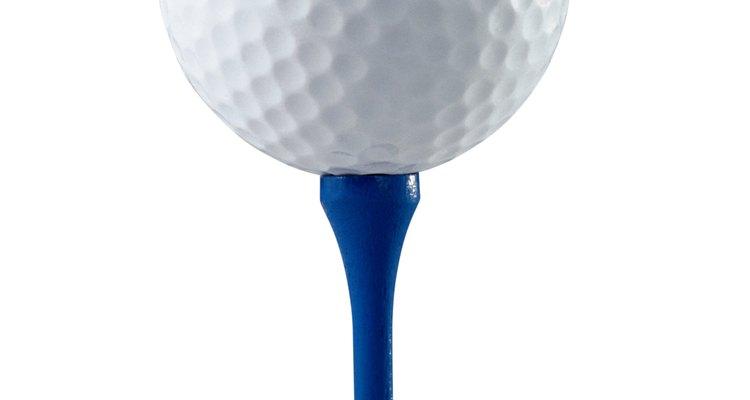 Existe uma grande quantidade de tecnologia dentro de uma bola de golfe