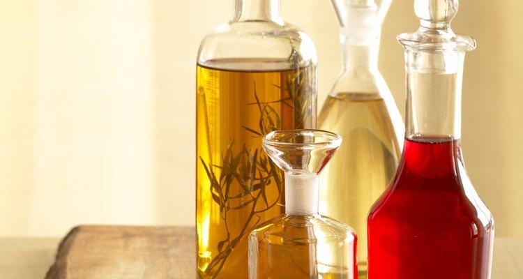 El vinagre puede ser muy dañino para las plantas.