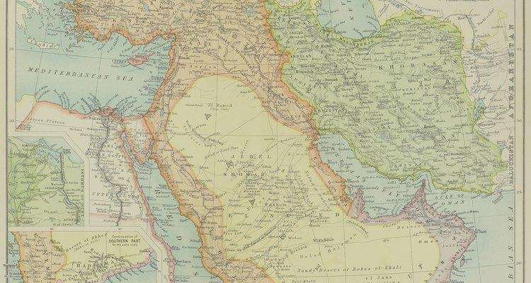 La Mesopotamia era la tierra entre los ríos Tigris y Éufrates en el Medio Oriente.