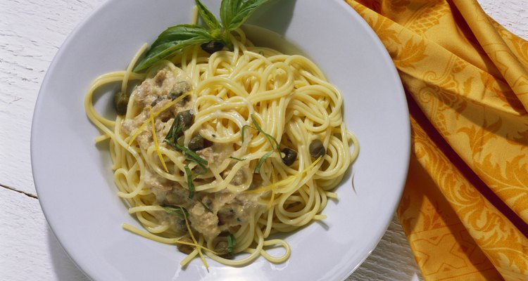 Rosemary is delicious with a tuna pasta.
