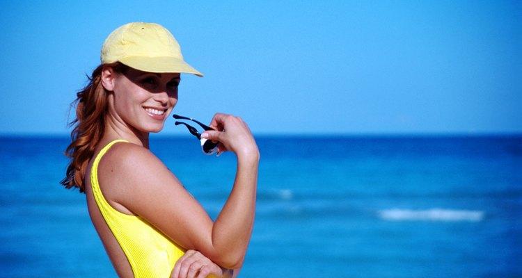 Seca la gorra al sol.