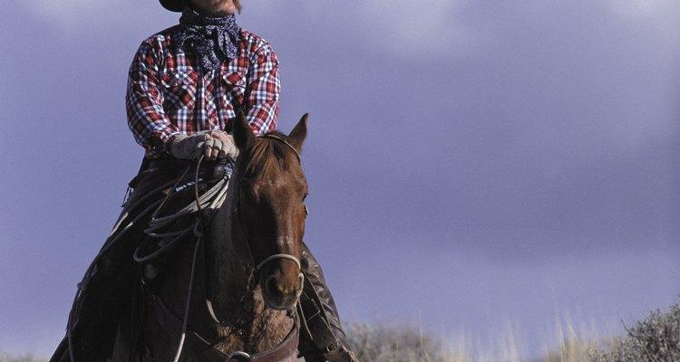 El vaquero fue el héroe representativo del Viejo Oeste.