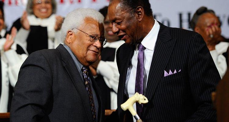 Famosos afroamericanos líderes de los derechos civiles.
