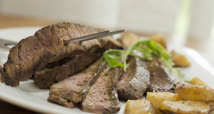 Sliced Steak Potatoes