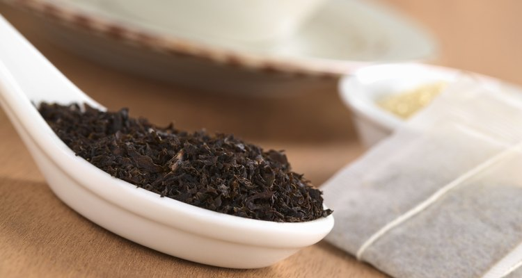 Dried Black Tea with Teabags