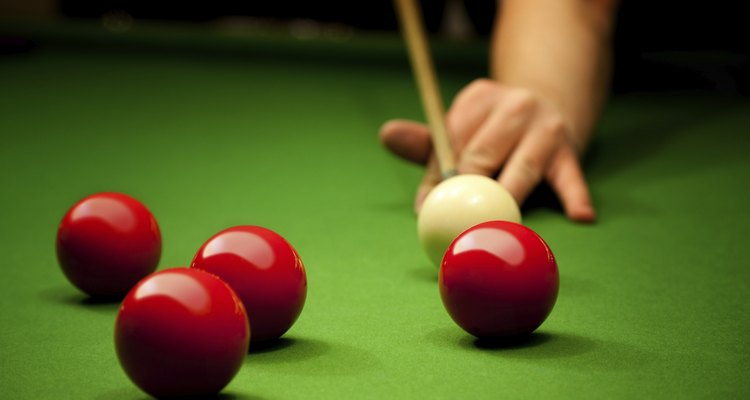 You will need a helper to dismantle a snooker table.