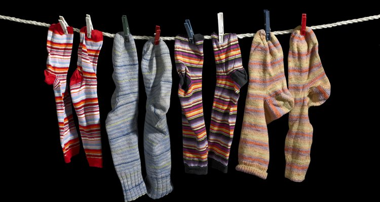 clothesline and sox