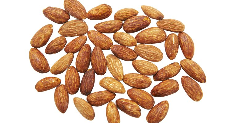 Almonds make a delicately flavoured paste that can be used in a variety of desserts.