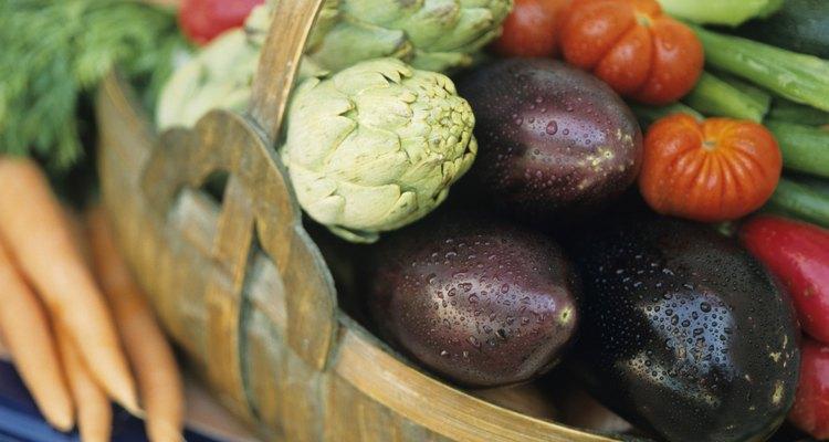 Dê vegetais de seu jardim junto com cartões de receitas