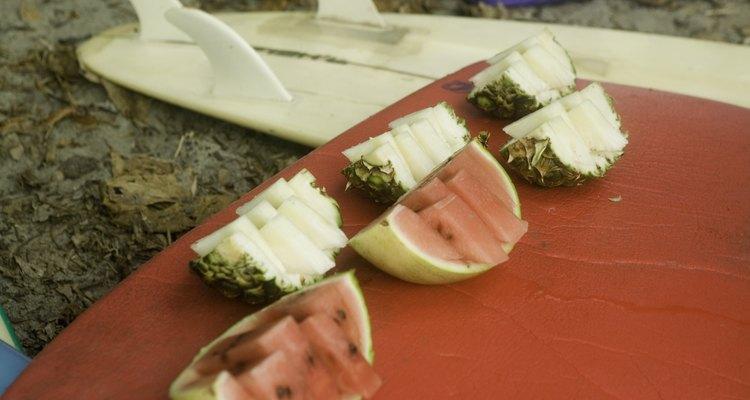 Abacaxi e melancia são ingredientes populares em drinques mexicanos