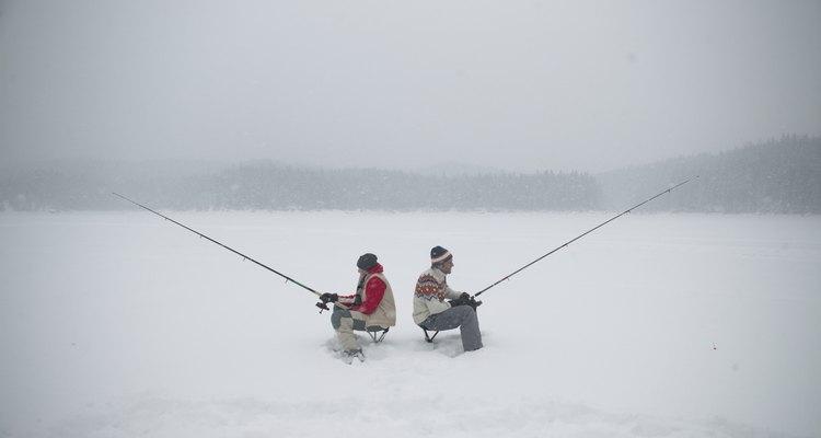 La ciudad de Erie se encuentra a poca distancia de algunos de los mejores lugares de pesca en el hielo del estado.