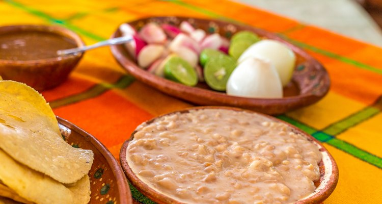 Autehtic Mexican Refried Beans