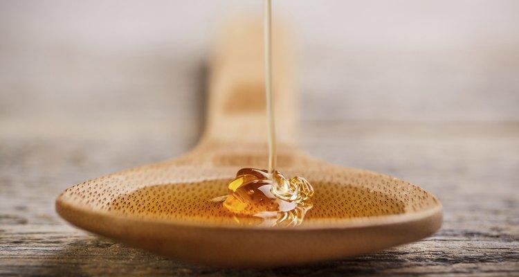 O mel é um xarope rico em açúcar