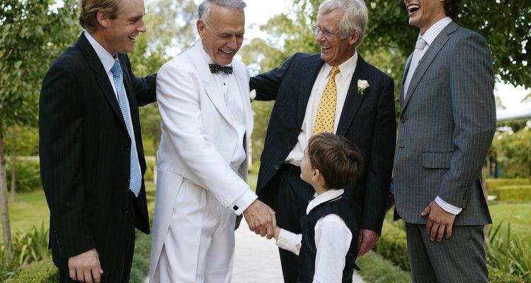 Invitados de la boda.