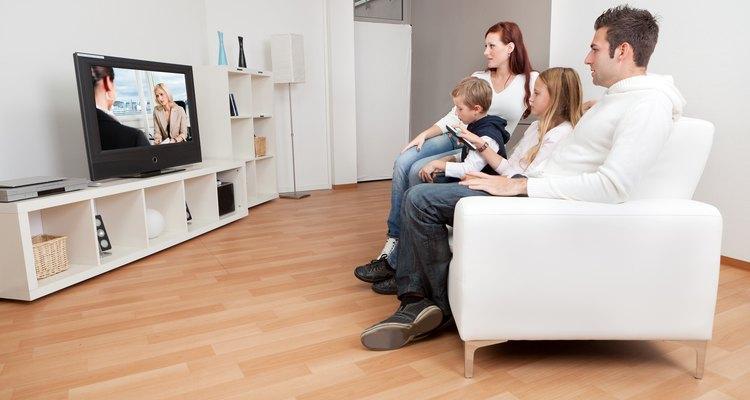 Eres más propenso a desarrollar un porcentaje mayor de grasa corporal si ves mucha televisión.