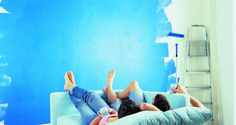 Descansa en los azules.