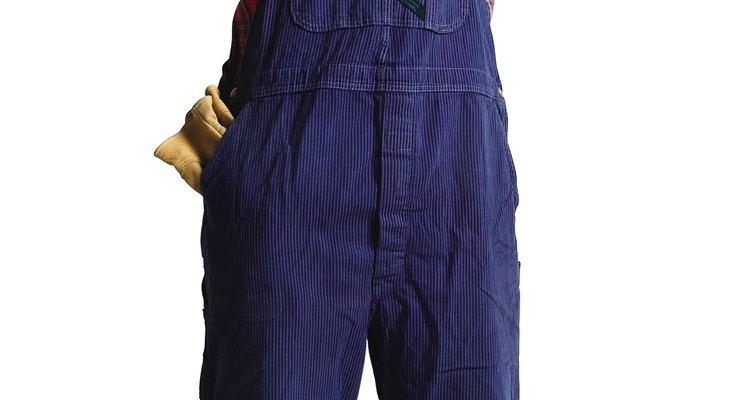La elección obvia de disfraz es el de granjero.