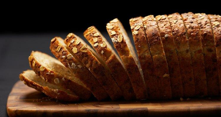 O melhorador de pão é perfeito para realçar a textura do pão de grãos integrais