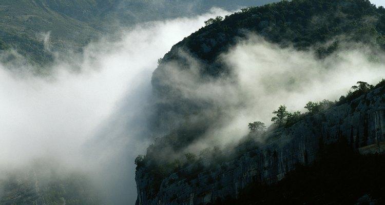 Los impresionantes Pirineos dominan el norte de España.