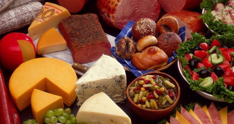 El queso y el jamón son una tradicional y deliciosa combinación.
