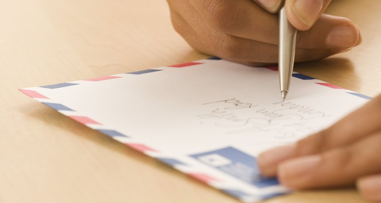 Addressing an envelope correctly helps both the postal service and company you're writing to.