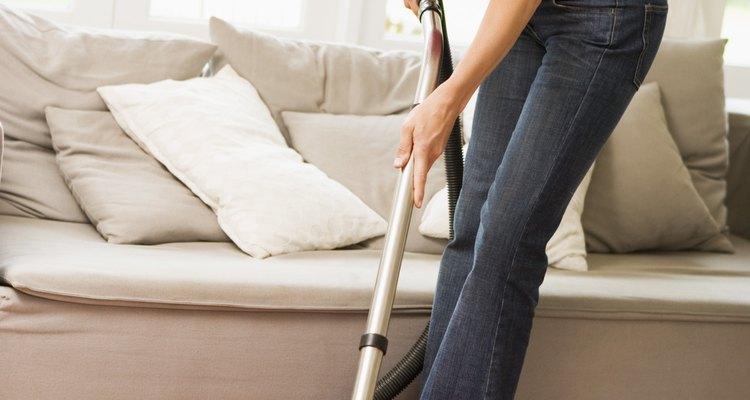 Aspirar é a maneira mais fácil de ajudar a controlar a invasão de pulgas