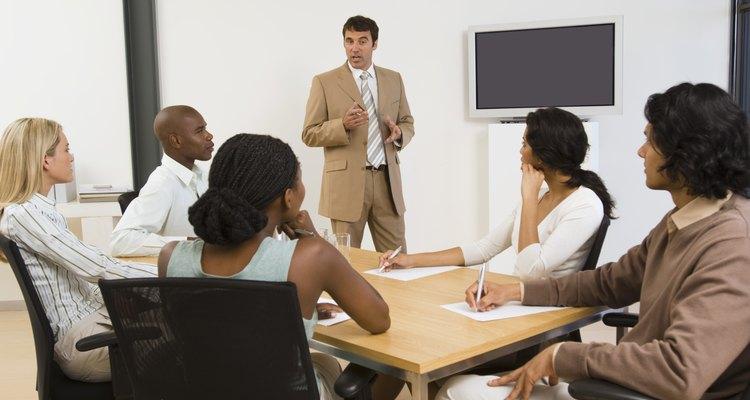 Reunión de negocios.
