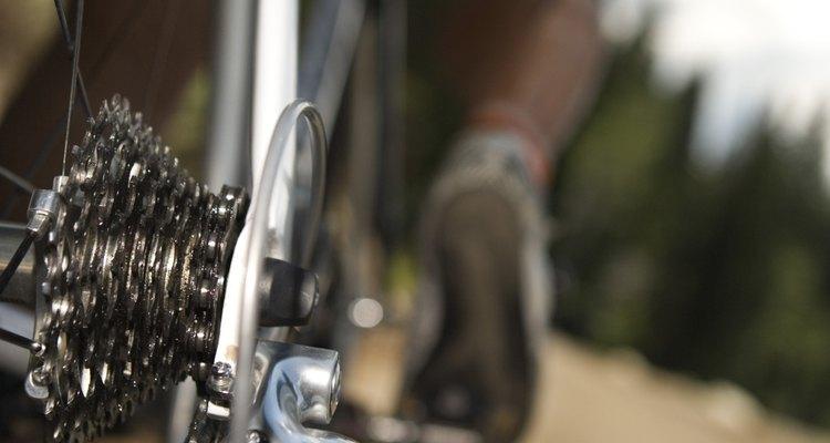 Cannondale bikes have a signature white paint.