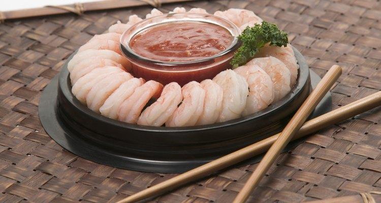 Shrimp platter