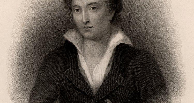 O poeta inglês Percy Bysshe Shelley