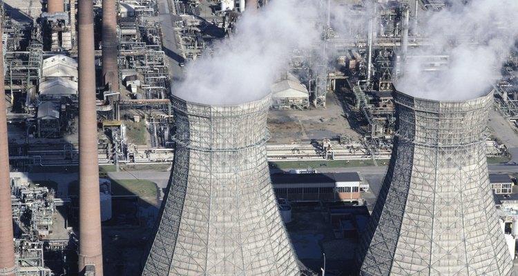 ¿Cuáles son los contaminantes industriales?