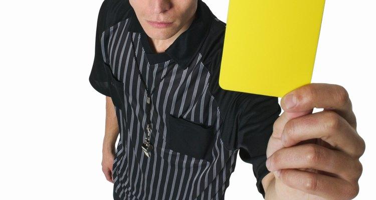 El disfraz de árbitro es muy fácil de crear.