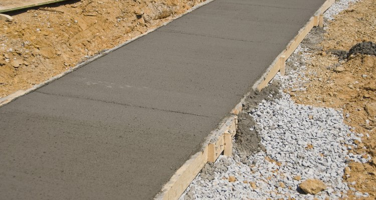Removing air bubbles before concrete sets results in a smoother project.