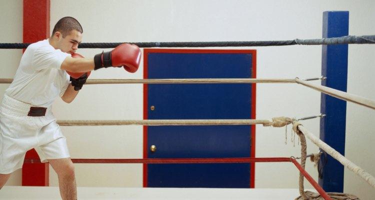 O boxe é um esporte de resistência, velocidade, agilidade e força