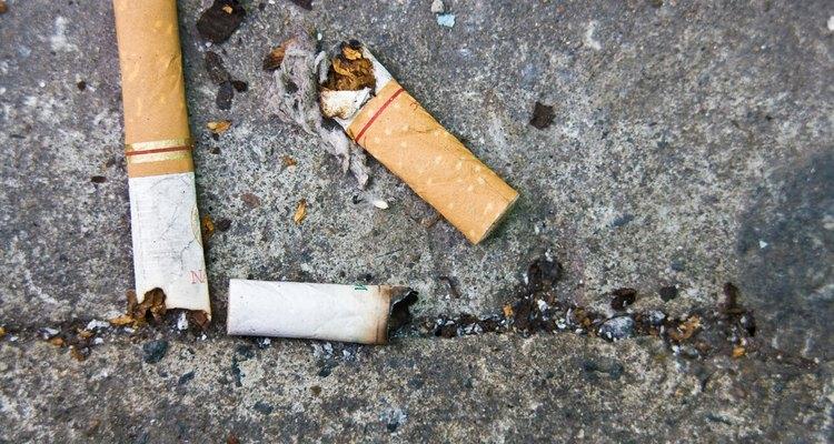 Queimaduras de cigarros no estofamento podem ser reparadas