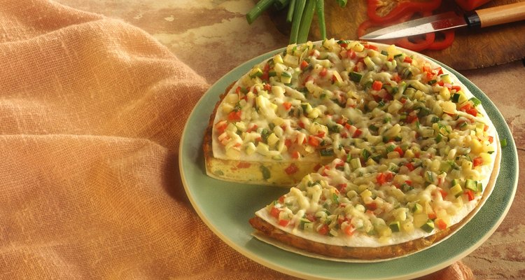 Southwestern frittata with ingredients