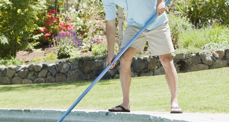 Nonchemical methods can keep water bugs out of the pool.