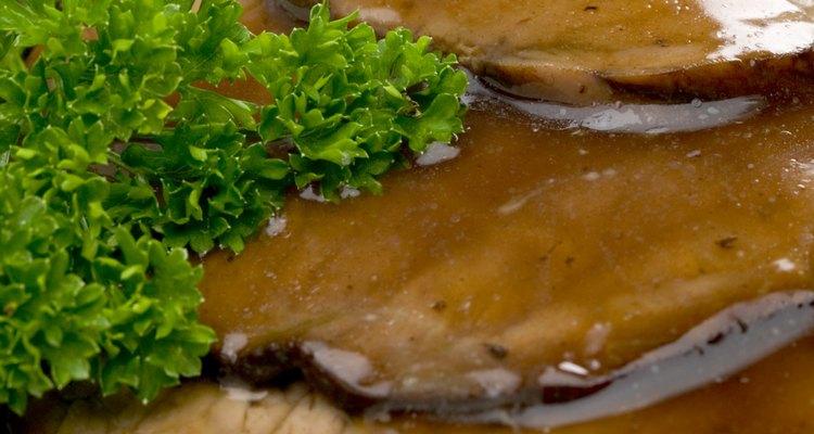 El asado es un económico corte de carne de res.