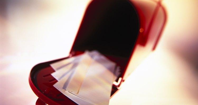 É comum o envio de carta registrada